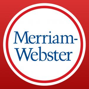 MerriamWebsterDictionaryHD app logo